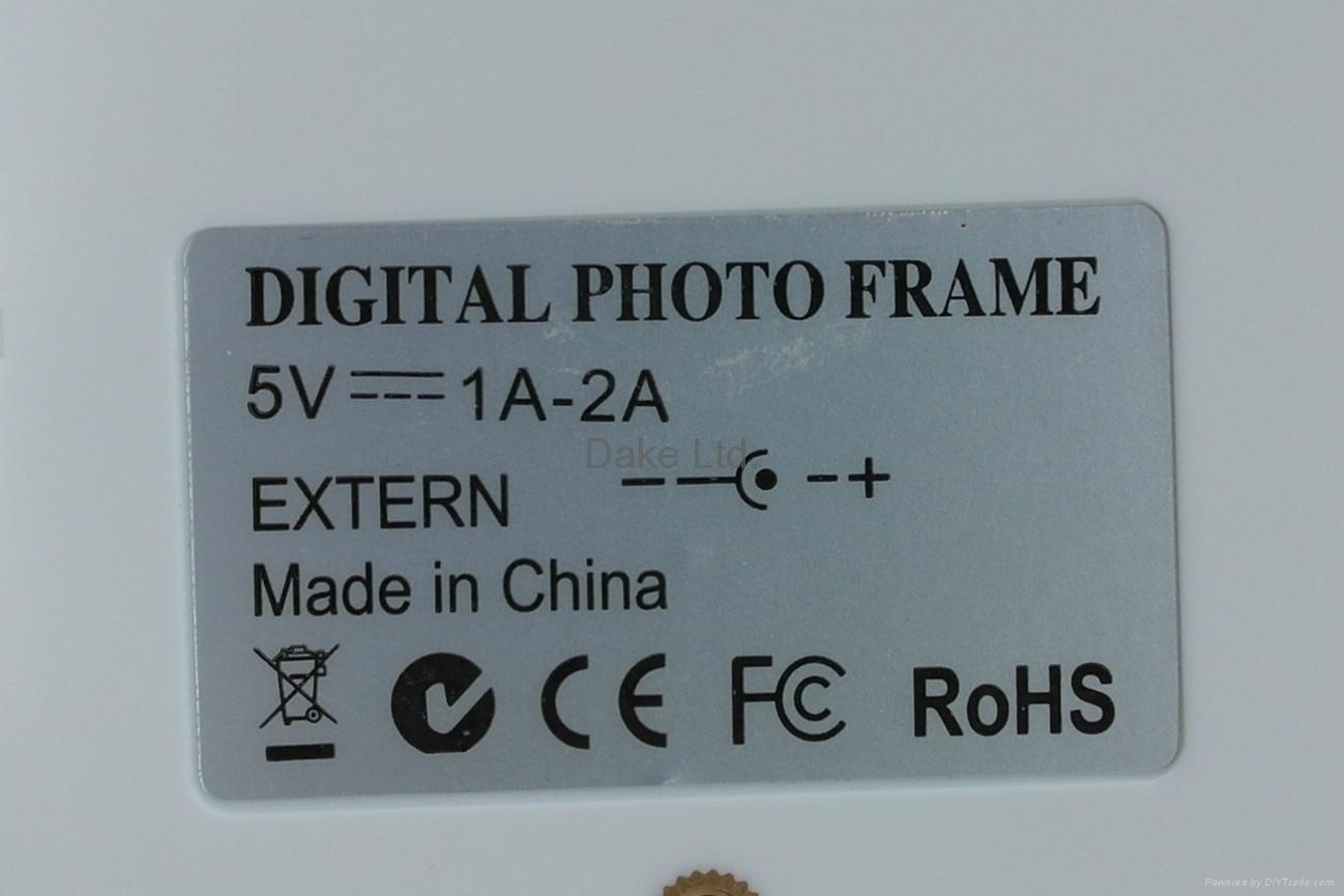 "10"" super thin digital photo frame  6"