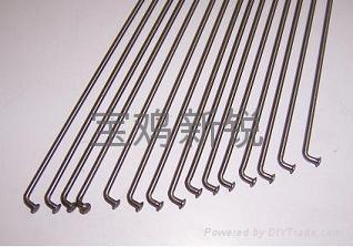 Titanium alloy spokes 1