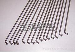 Titanium alloy spokes
