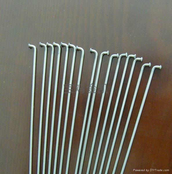 Titanium alloy spokes 2