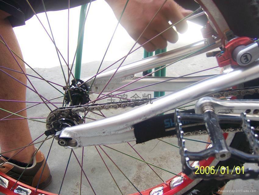 Titanium alloy spokes 5