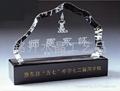 水晶内雕奖牌、感恩纪念礼品、世