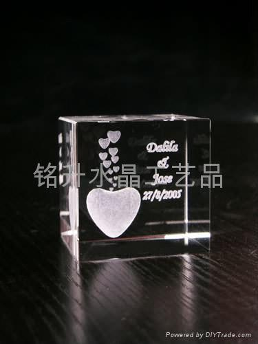 深圳水晶禮品定做、水晶內雕、亞運會禮品定做 1
