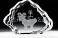韶关水晶内雕礼品定做、上海世博