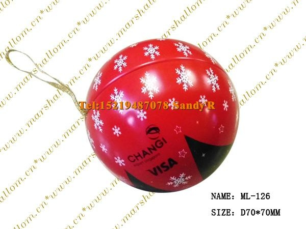 Christmas sphere 1
