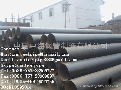 ERW carbon steel pipe 3