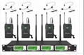 G-787 True diversity 4*100 channel UHF wireless Bodypack microphone (1 set)