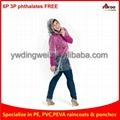 Disposable PE Emergency Rain Ponchos for