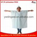 Reusable EVA rain ponchos
