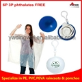 Ball Rain Poncho In Balls For Gifts Wholesale Promotion Disposable keychain ball