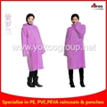 130g Reusable Long EVA Raincoat with 4