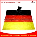 Germany Flag PVC Ponchos for football