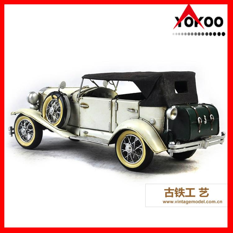 Antique Metal Car Model for Shop Decoration 2