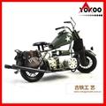 Vintage Metal Motorcycle Model 2