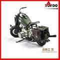 Vintage Metal Motorcycle Model 5