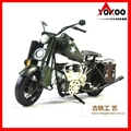 Vintage Metal Motorcycle Model 4