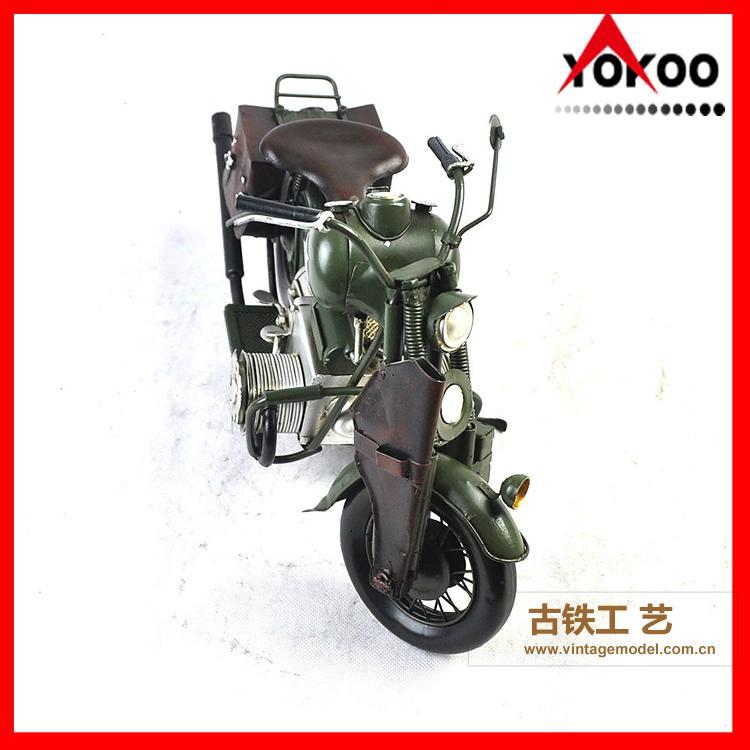 Vintage Metal Motorcycle Model 7