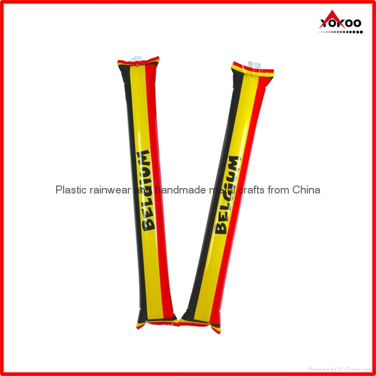 0.06mm PE inflatable thunder sticks for promotion 1