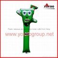 0.06mm PE inflatable thunder sticks for promotion 2