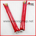0.06mm PE inflatable thunder sticks for promotion 4