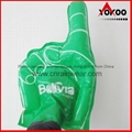 PE Inflatable Customized Cheering Hands for Promotion 1