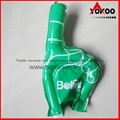 PE Inflatable Customized Cheering Hands for Promotion 4