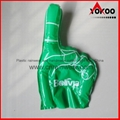 PE Inflatable Customized Cheering Hands for Promotion