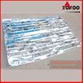 130cmx210cm Emergency mylar thermal blanket 5