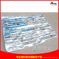 130cmx210cm Emergency mylar thermal blanket 6