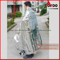 130cmx210cm Emergency mylar thermal blanket 13