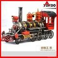 Handmade antique metal train model for collection 10