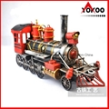 Handmade antique metal train model for collection 20