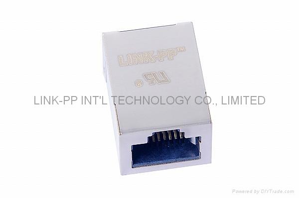 6605760-3 10/100 Base-T Single Port RJ-45 Connector Tab-up Stecker