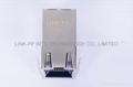0826-1X1T-57 10/100 Base-T Ethernet RJ45 Magjack