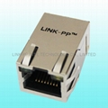 0826-1AX1-47-F RJ45 8 Pin Female Connector For Switch Hub