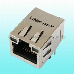 HFJ11-RP44e-S1L12RL ethernet plug cavi di rete for Industrial PoE Switch