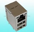 RJLUG-032TA1 conector usb rj45 buchse