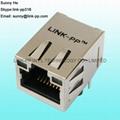 380-1119-ND 1X1 Port RJ45 LED Connector