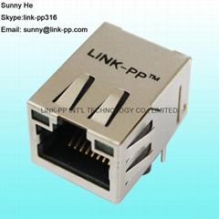 1 x 1 Port Networking Rj45 Telephone Jack , Female Rj 45 Modular Plug cat6 rj45