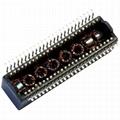 HX1234NL / HX1234NLT 10/100 Base-t Quad Port SMD Transformer Modules