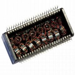 TG1G-S201NV6/TG1G-S202NV6/TG1G-S205NV6 Dual Port Gigabit SMD Isolation Modules