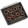 H2001DG 10/100 Base-t Quad Port THT Transformer Modules