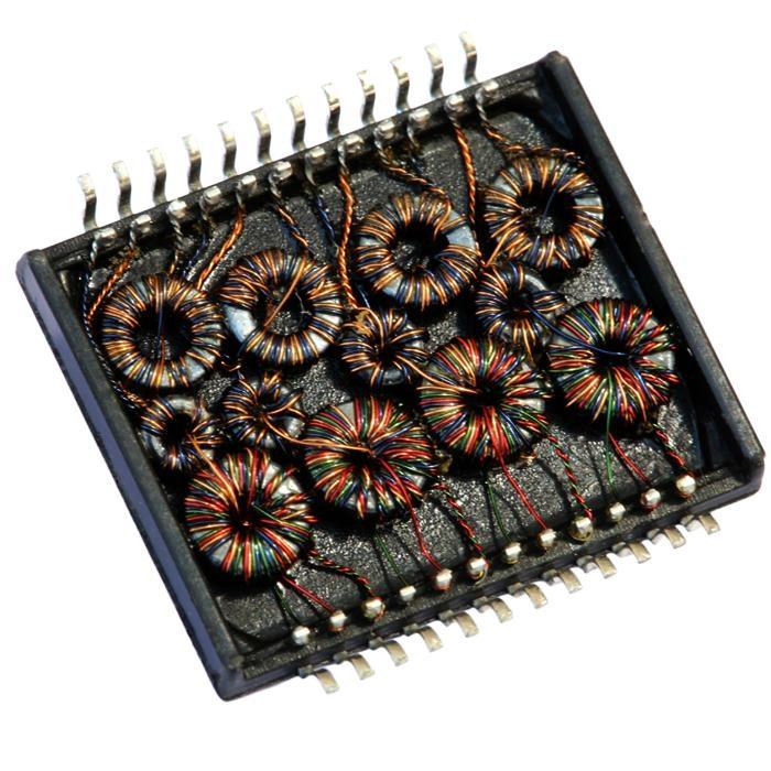 H1234 10/100 Base-t Quad Port SMD Transformer Modules