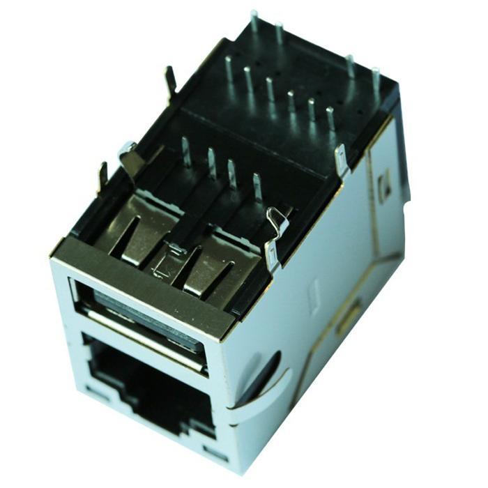 0821-1X1T-06-F  RJ45 Connector RJ45 Fast Jack for Optical Transport Platform