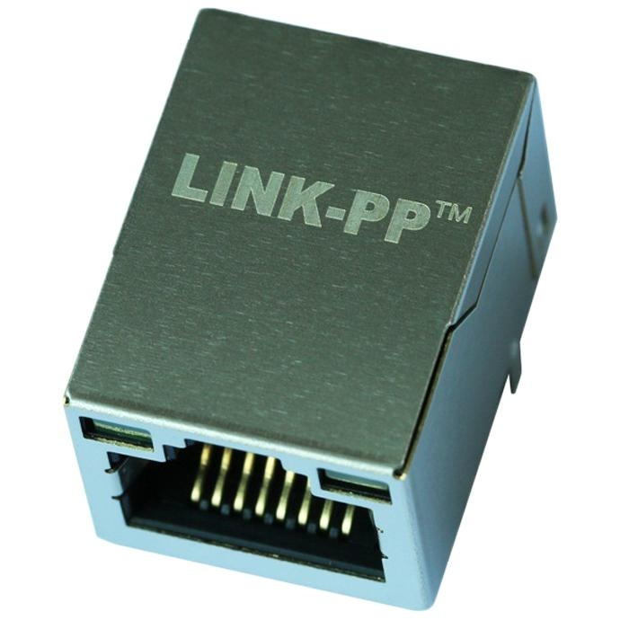 LMJ201 881X 100D LXT1B Tab Up Single Port RJ45 Jack Module With LED
