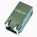 0826-1K1T-43 / 0826-1K1T-43-F Gigabit 1X1 Port RJ45 Connector Female