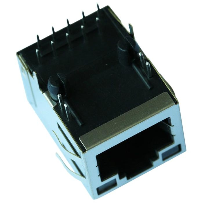 6605814-6/6605814-1/6605814-5 1000 Base-T Magnetic Single Port RJ45 Modular Jack