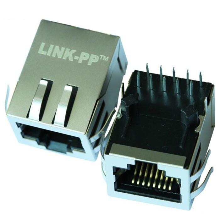 HFJ11-1G01ERL / HFJ11-E1G01ERL Single Port RJ45 Connector Plug Without LEDs