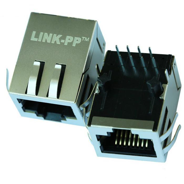 HFJ11-2450ERL/HFJ11-E2450ERL 10/100 Base-t 1X1 Port RJ45 Magnetic jack