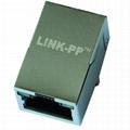 J1006F01PNL 100 Base-t Single Port RJ45 connector With Magnetics